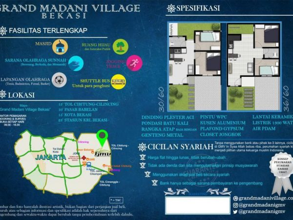 Green Madani Bekasi Cicilan 900an