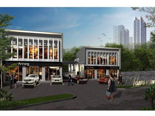Dijual Ruko Pinggir Jalan Raya Hankam Pondok Gede Bekasi