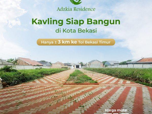 Kavling Syariah Mustikasari Adzkia Residence Bekasi Timur